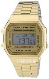 Casio Casio Collection LCD/Kullansävytetty teräs A168WG-9EF