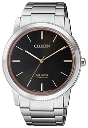 Citizen Musta/Titaani Ø41 mm AW2024-81E
