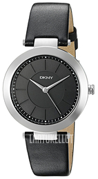 DKNY Dress Musta/Nahka Ø36 mm NY2465