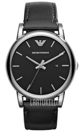 Emporio Armani Dress Musta/Nahka Ø41 mm AR1692