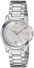 Gucci G-Timeless Hopea Teräs Ø27 mm YA126523 ea24afd0ca