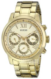 Guess Sporty Samppanja/Kullansävytetty teräs Ø42 mm U0330L1