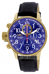 Invicta Force Lefty Sininen/Tekstiili Ø46 mm 1516