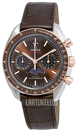 Omega Speedmaster Moonwatch Ruskea/Nahka Ø44.25 mm 304.23.44.52.13.001
