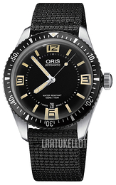 Oris Diving Musta/Tekstiili Ø40 mm 01 733 7707 4064-07 5 20 24