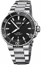Oris Diving Musta/Teräs Ø43.5 mm 01 733 7730 4124-07 8 24 05EB