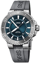 Oris Diving Sininen/Kumi Ø43.5 mm 01 733 7730 4125-Set RS