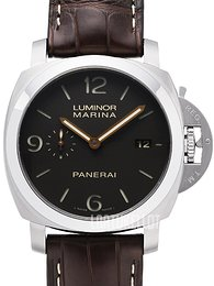 Panerai Contemporary Luminor 1950 Marina 3 Days Automatic Ruskea/Nahka Ø44 mm PAM 351