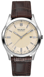 Swiss Military Lieutenant Beige/Nahka Ø38 mm 06-4182.04.002