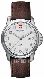 Swiss Military Dress Hopea/Nahka Ø39 mm 06-4231.04.001