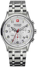 Swiss Military Sport Hopea/Teräs Ø43 mm 06-5187.04.001