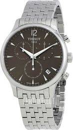 Tissot Tradition Harmaa/Teräs Ø42 mm T063.617.11.067.00