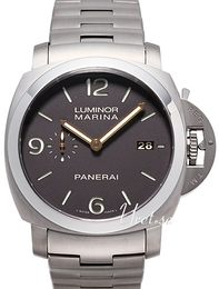 Panerai Contemporary Luminor 1950 Marina Ruskea/Titaani Ø44 mm PAM 352