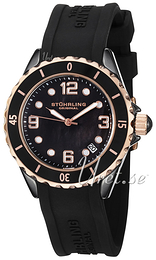 Stührling Original Aquadiver Atlantis Musta/Kumi Ø39 mm 954.129627