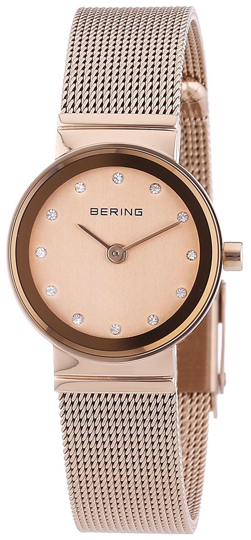Bering Classic Naisten kello 10122-366 Punakultaa/Punakultasävyinen