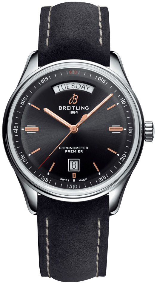 Breitling Premier Automatic Day & Date 40 Miesten kello
