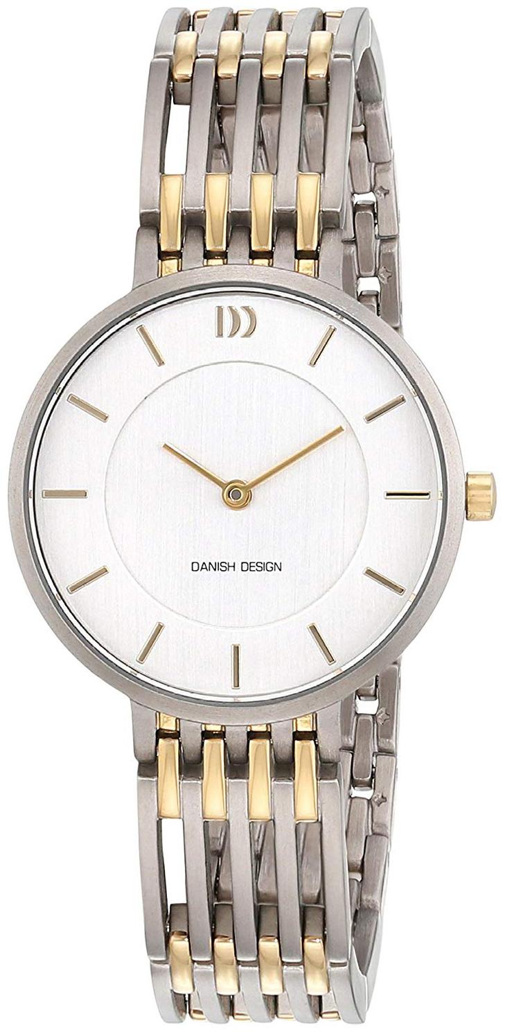 Danish Design 99999 Naisten kello 3326614 Hopea/Kullansävytetty