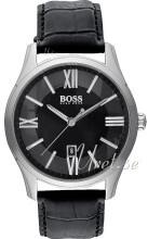 Hugo Boss Ambassador Musta/Nahka Ø40 mm