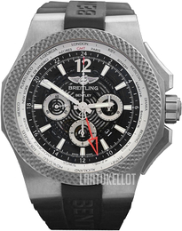 Breitling for Bentley GMT Light Body Musta/Kumi Ø49 mm EB043210-BD23-222S-E20DSA.2