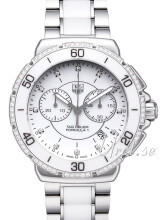 TAG Heuer Formula 1 Steel And Ceramic Chronograph Diamonds Valko